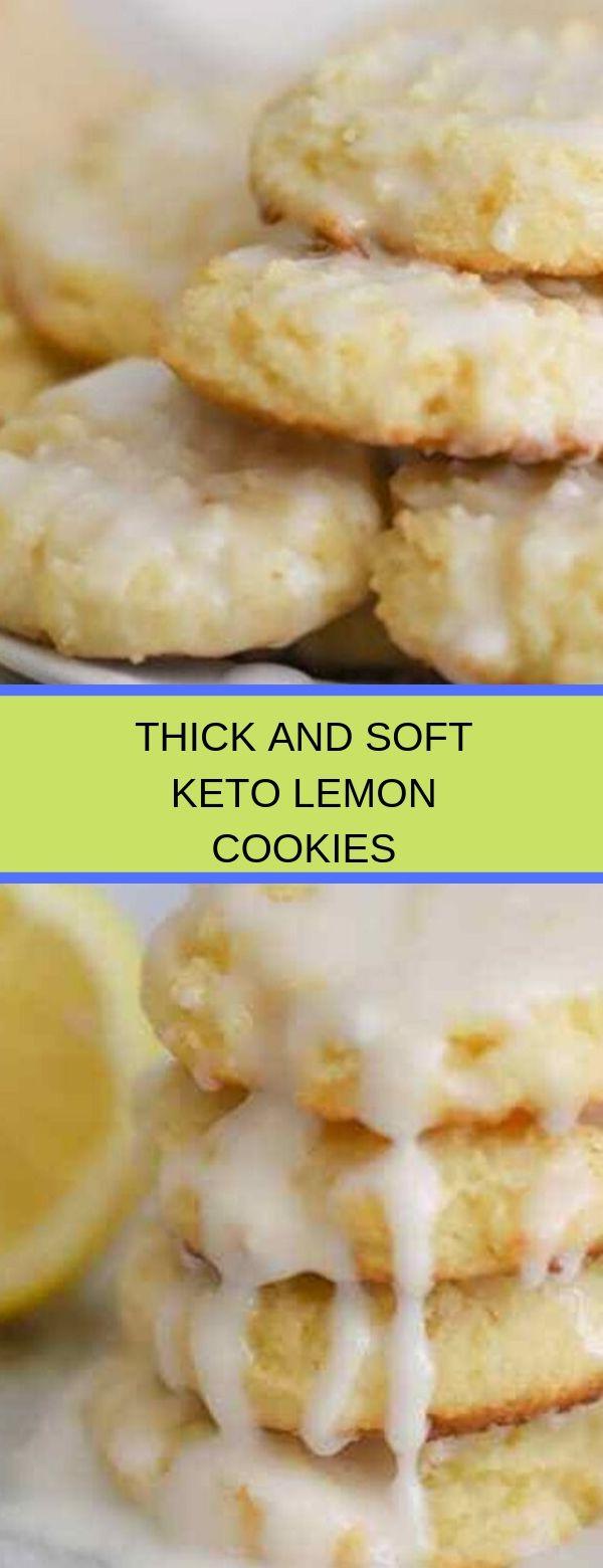 THICK AND SOFT KETO LEMON COOKIES