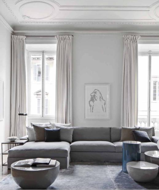 Pingl par christiano garcia sur gris en 2020 relooking - Rideaux salle a manger salon ...
