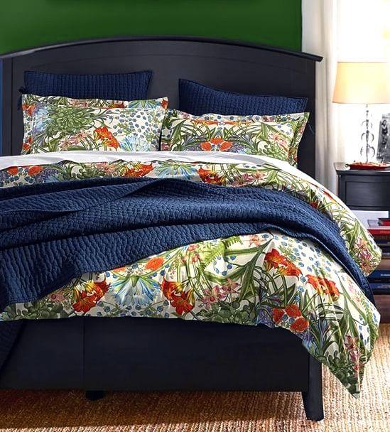 POTTERY BARN: Paradise duvet cover & shams | bedding that invites ...