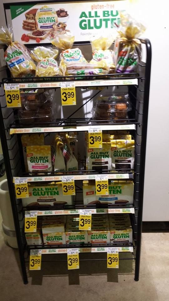 All But Gluten products from Vons/Safeway! YUMMY and well-priced