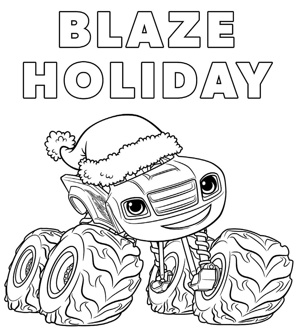 Blaze And The Monster Machines Coloring Pages New Blaze And The Monster Machines Color Monster Truck Coloring Pages Nick Jr Coloring Pages Truck Coloring Pages