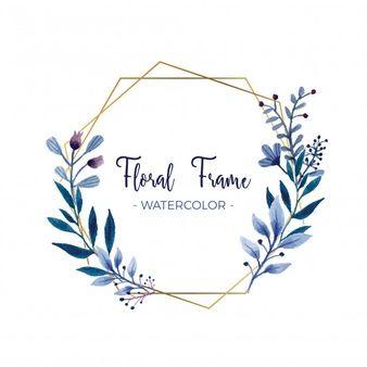 Lade Hand Gezeichnet Blumenkranz Für Hochzeit Designs kostenlos herunter