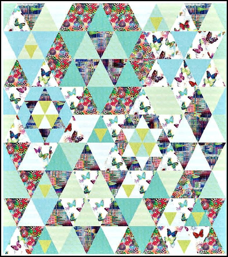 Crystalia Free Quilt Pattern from Hoffman Fabrics   Quilting ... : hoffman free quilt patterns - Adamdwight.com
