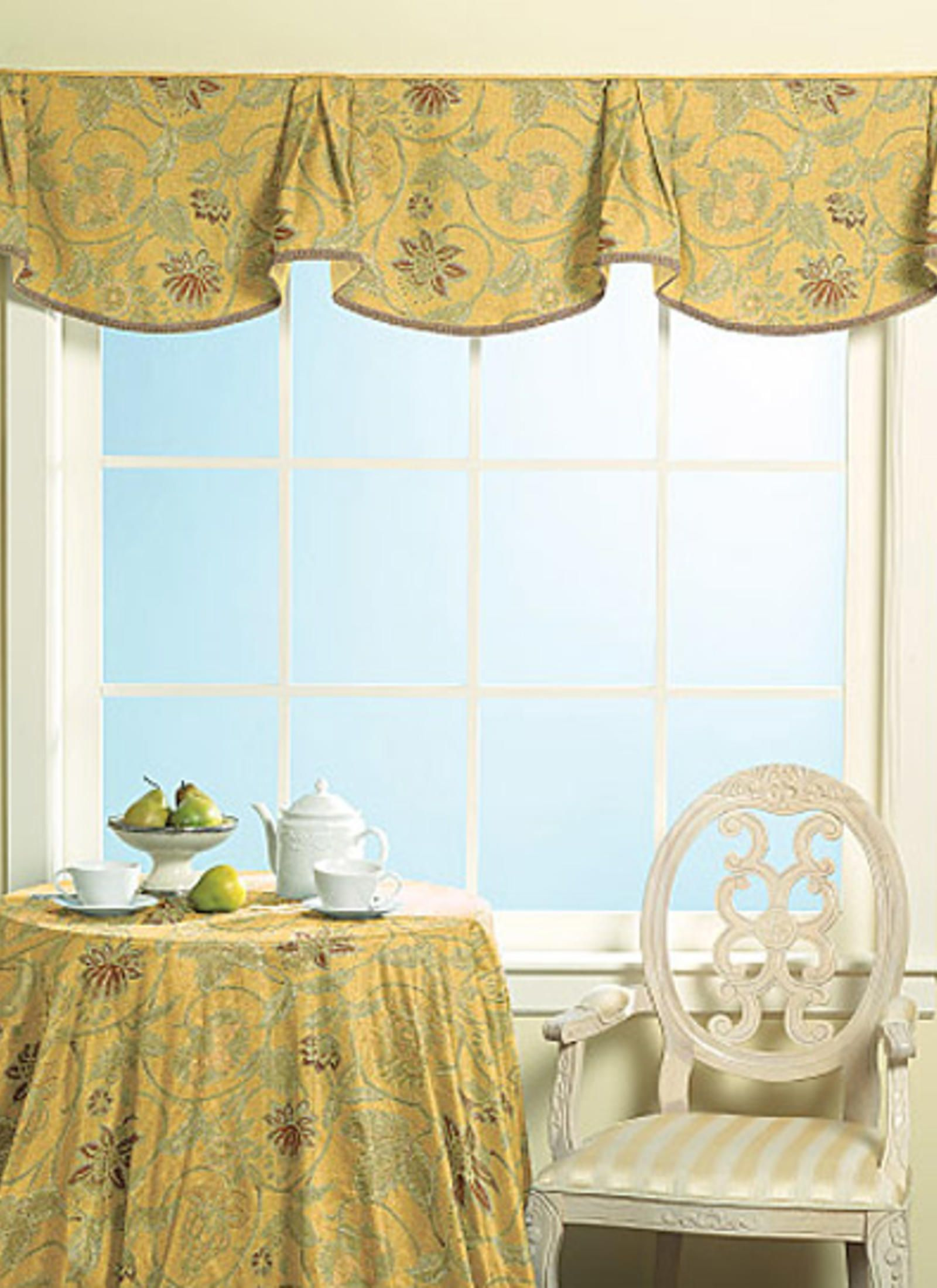 M5286 Valance Patterns Home Decor Drapes Blinds