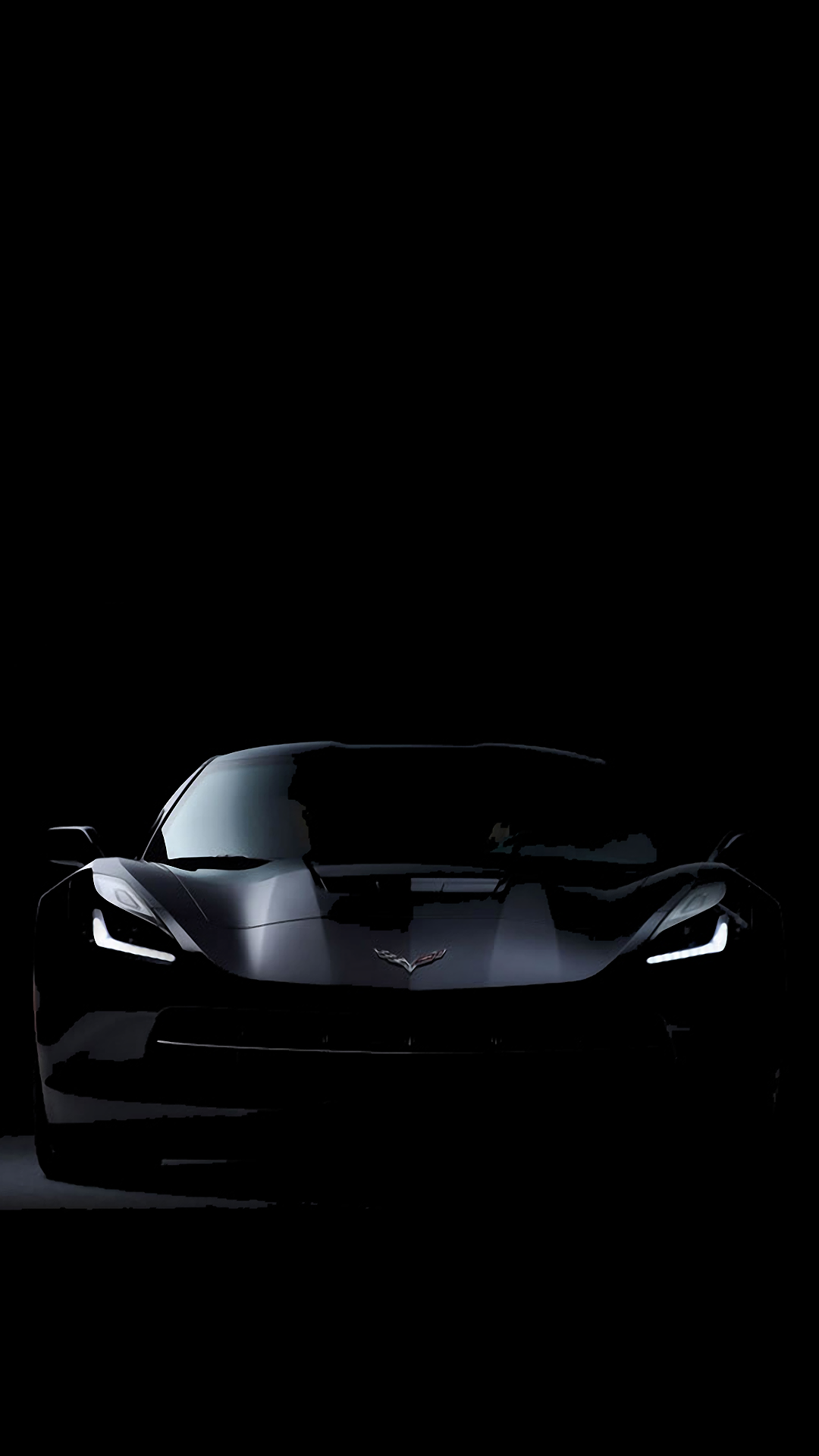 C7 Corvette Stingray Dark Iphone 7 Wallpaper Corvettes