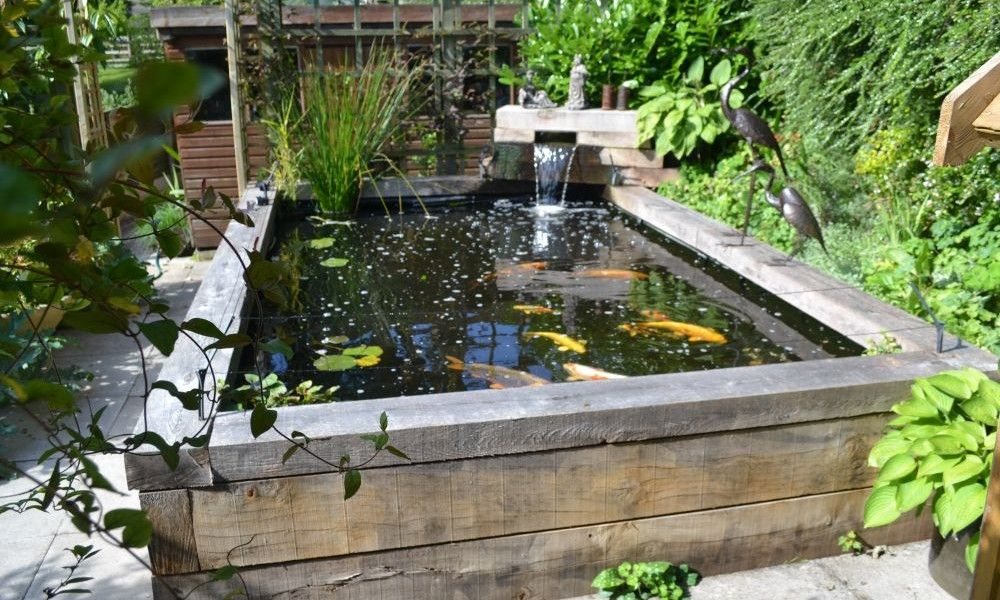 Lotus Waterfall Ideas Advantage And Builders Idea Raised Aqu Garden Pond Design Fish Pond Gardens Ponds Backyard Backyard Water Feature