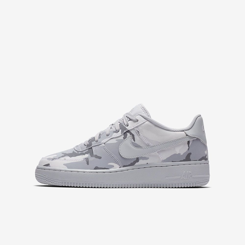 Nike Air Force 1 LV8 GS Shoes (7Y) Kids 820438 104 Wolf Grey