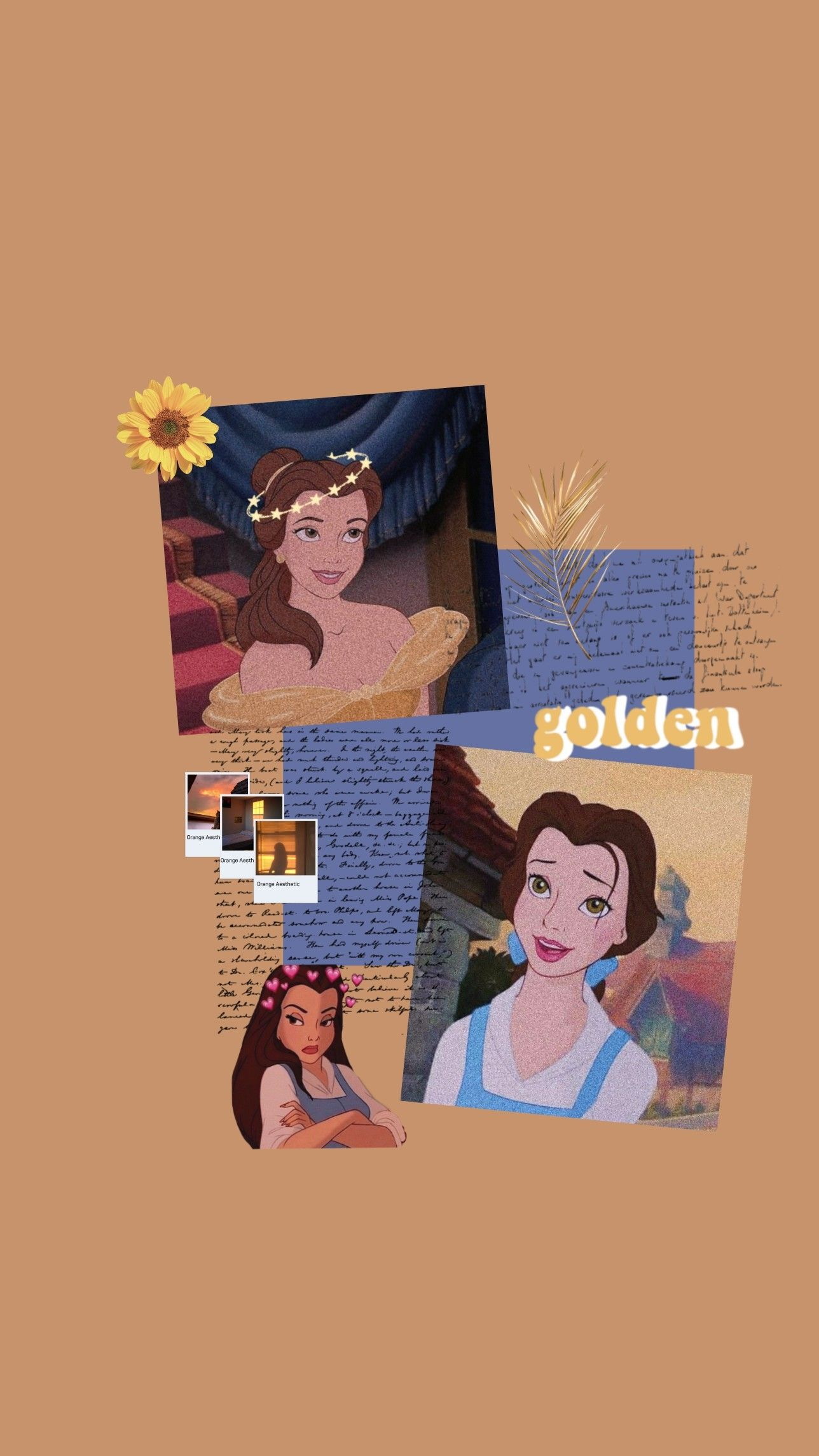 Princess Belle Aesthetic Wallpaper☀️