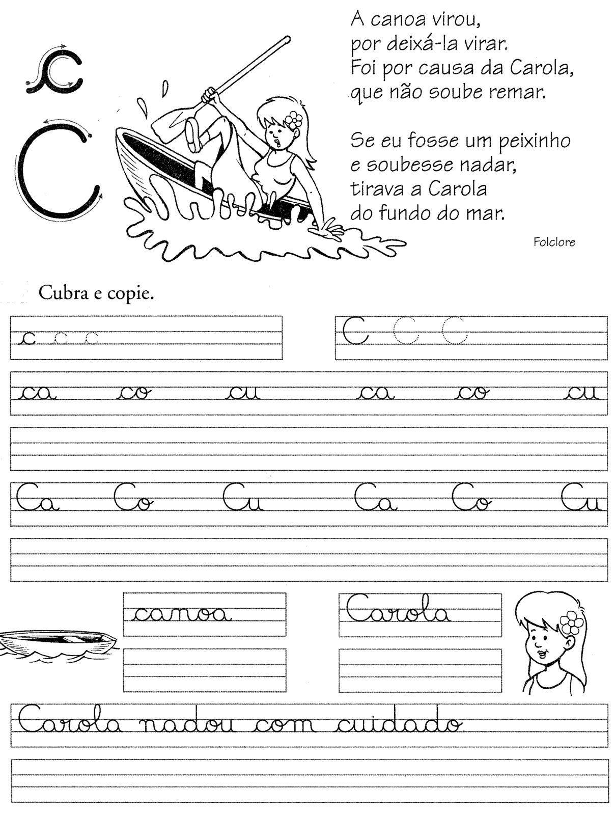 Blog Professor Zezinho Atividades Para Alfabetizacao