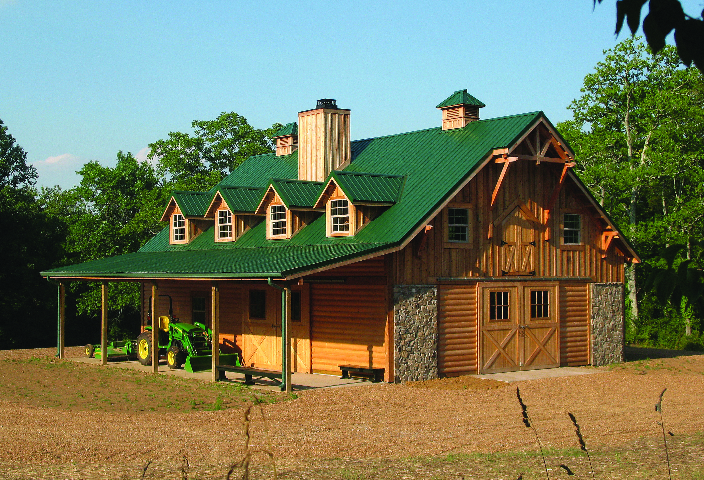 Horse Barn With An Apartment A Must Have