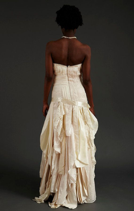 11 Beautiful Upcycled Wedding Gowns