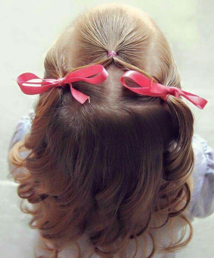 Pin de Tiffany Ojeda en Beauty Pinterest Peinados, Peinados - peinados de nia faciles de hacer