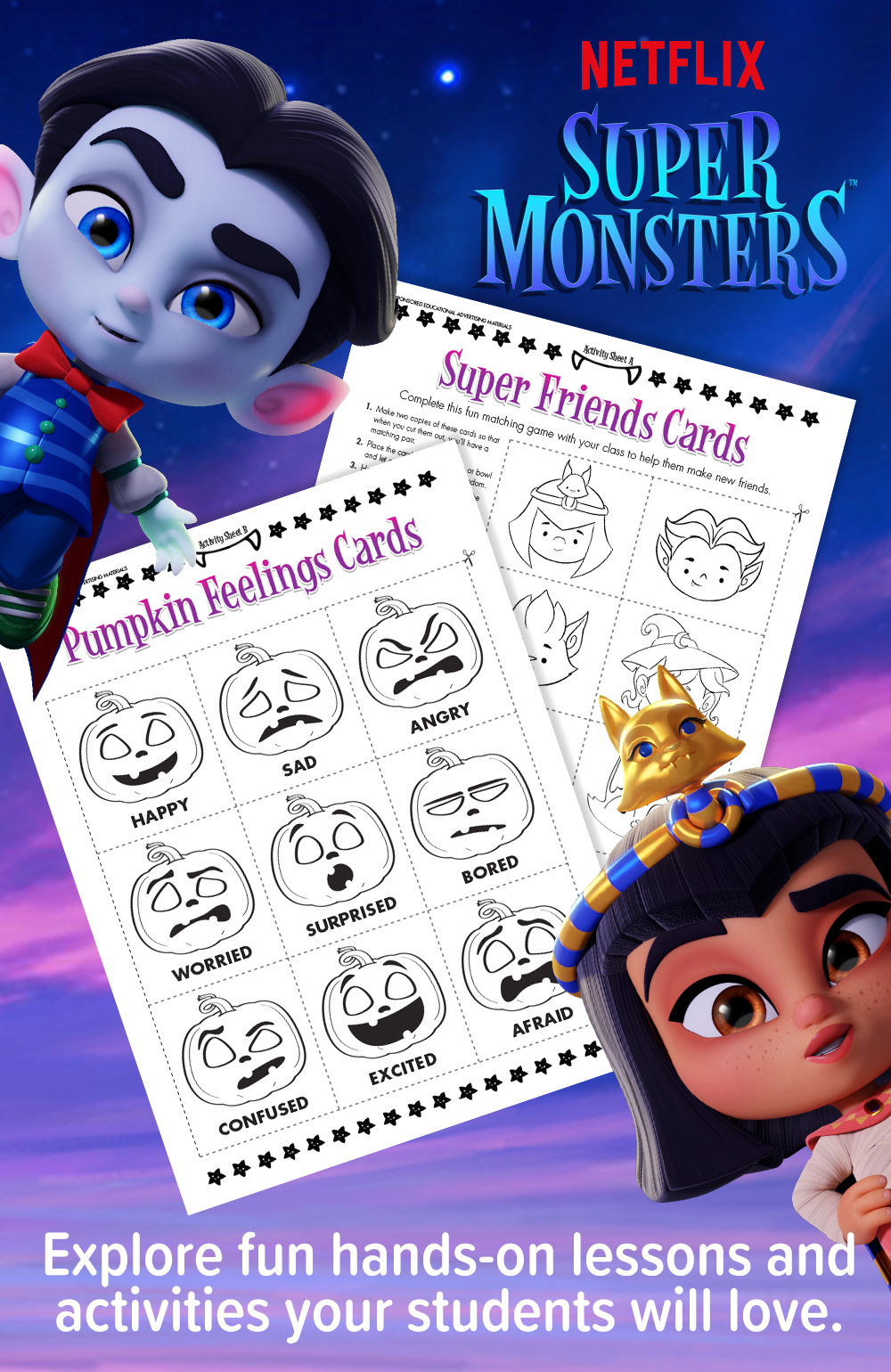 Super Fun Lesson Plans From Super Monsters Fun Lesson Plans Capturing Kids Hearts Montessori Activities