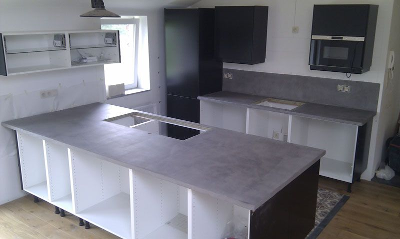 mortex plan de travail cuisine - Recherche Google In the kitchen - installation plan de travail cuisine