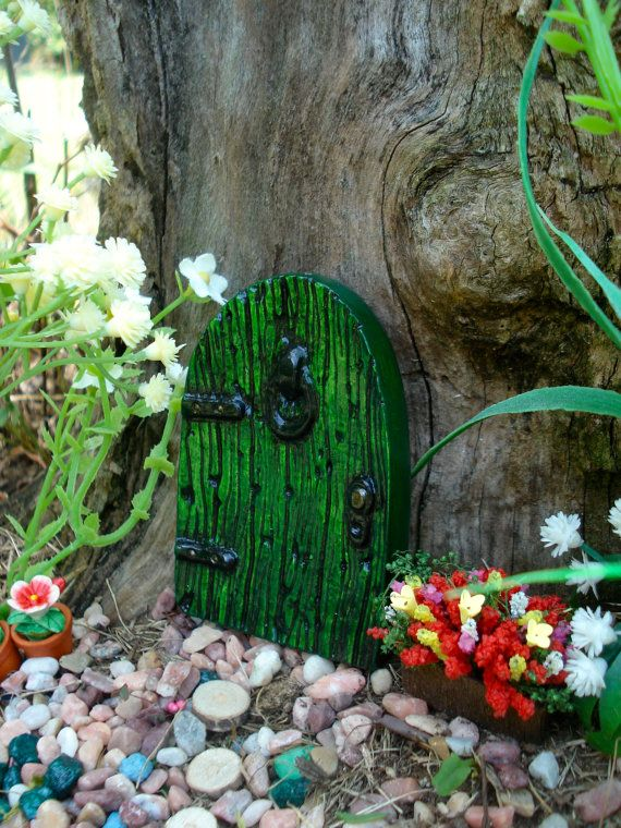 Fairy Door Kit, Small Fairy Gardens, Fairy Birthday Decorations, Outside  Decor, Gifts
