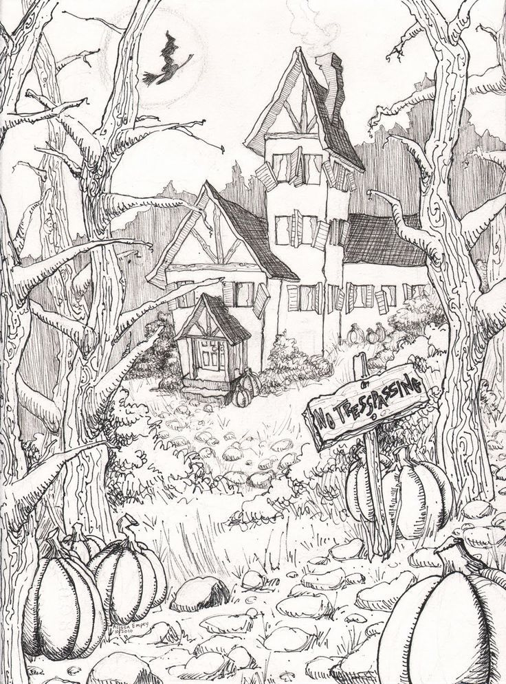 exhausting halloween coloring pages for adults - Google Search ...