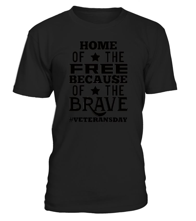 Veterans Day: Home Of The Free, Because Of The Bra - Men's Premium T-Shirt  Funny Veterans Day T-shirt, Best Veterans Day T-shirt