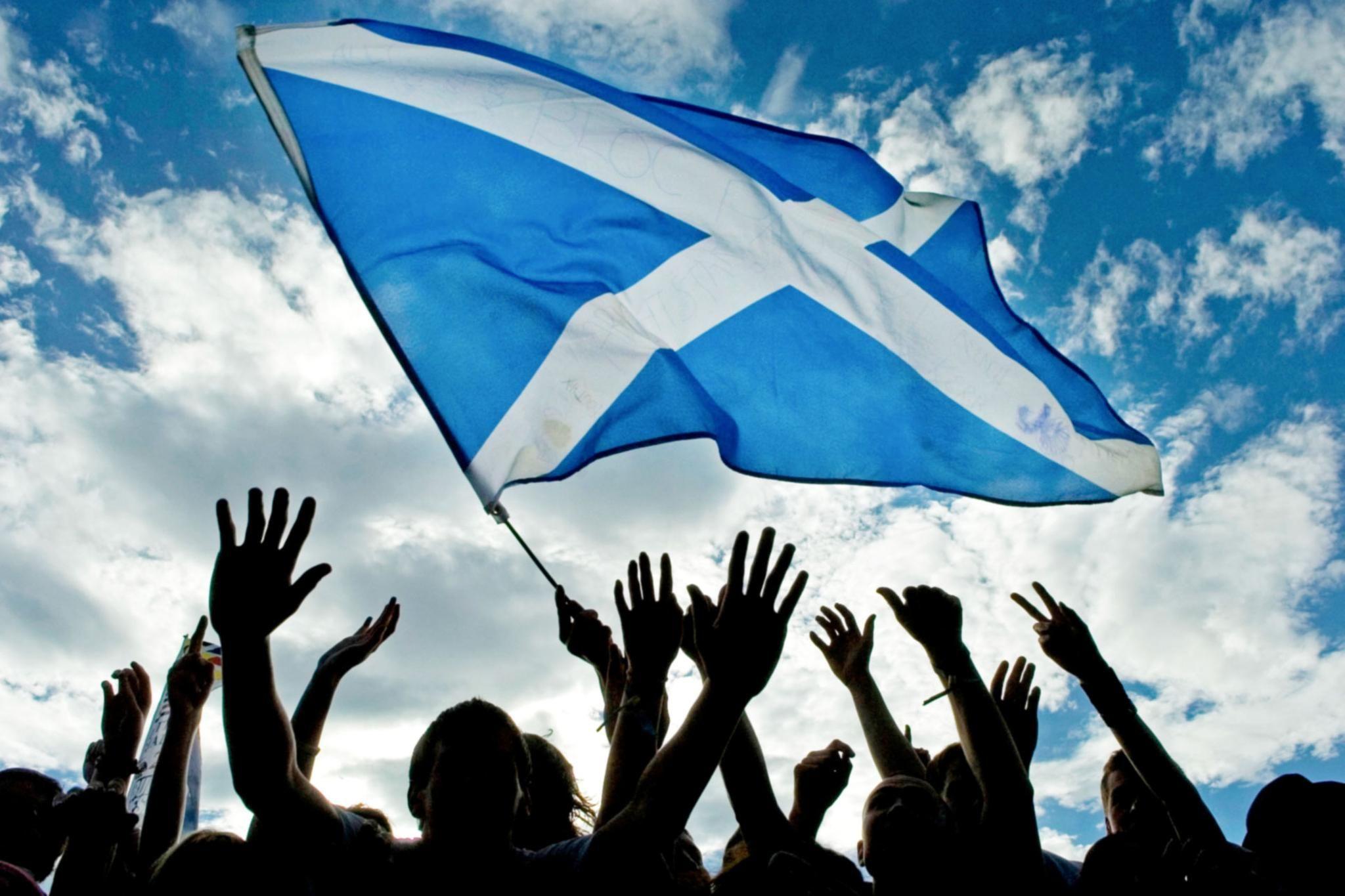 St Andrew The Saltire The Scottish Flag Scottish Scotland Flag