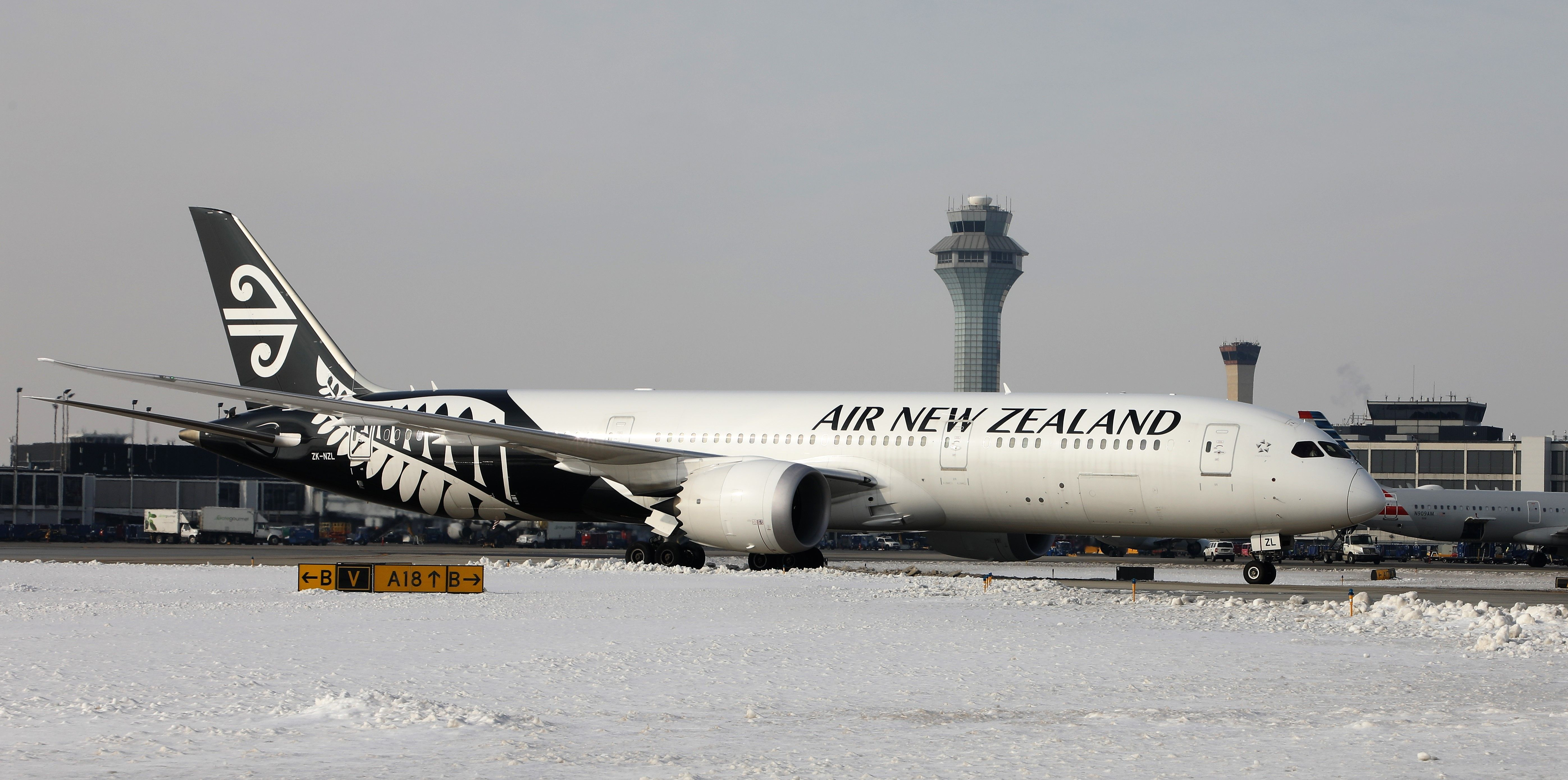 Cda Welcomes Inaugural Air New Zealand Flight From Auckland To