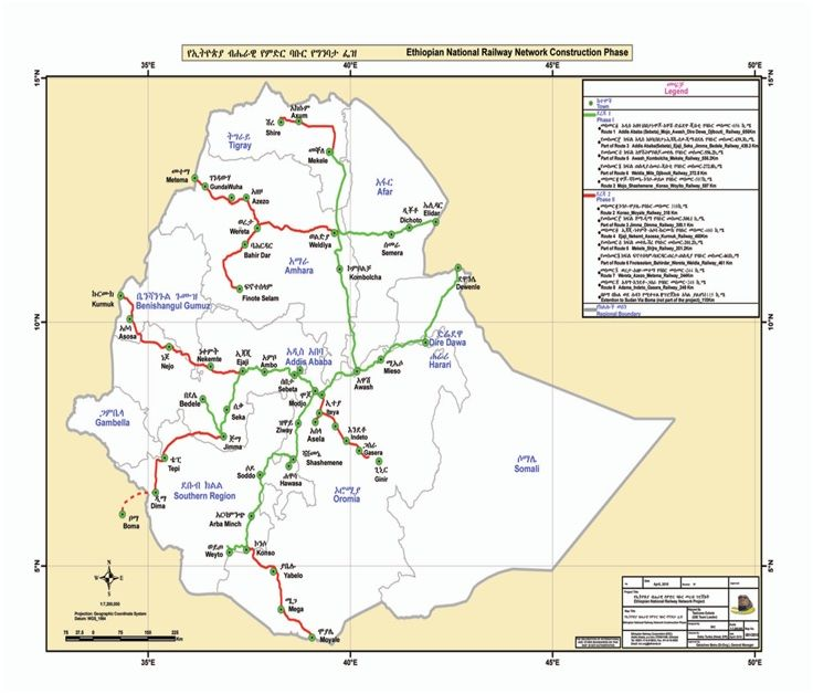 The National Railway Network of Ethiopia (NRNE) - Resources