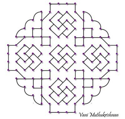 Top  Latest Kolam Designs For You To Try This