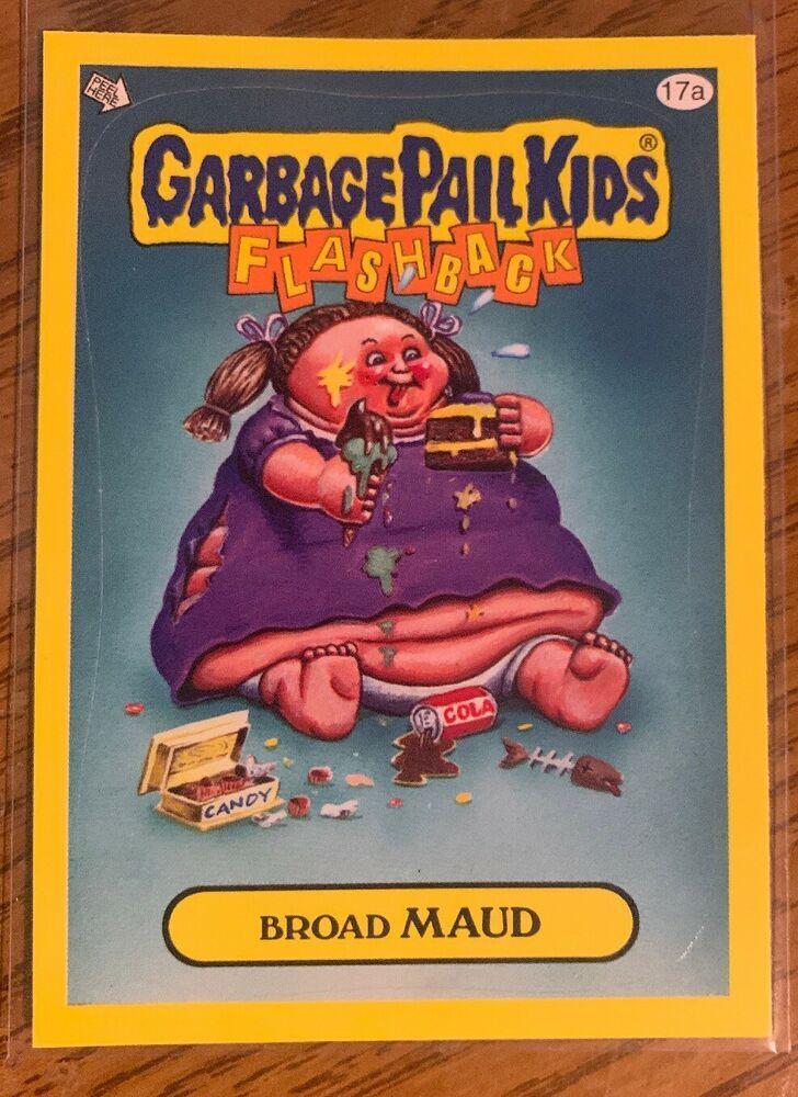 2011 garbage pail kids flashback series 3 broad maud 17a