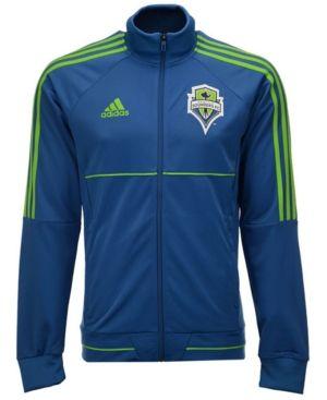 adidas Men's Seattle Sounders Fc Anthem Jacket - Tan/Beige XL