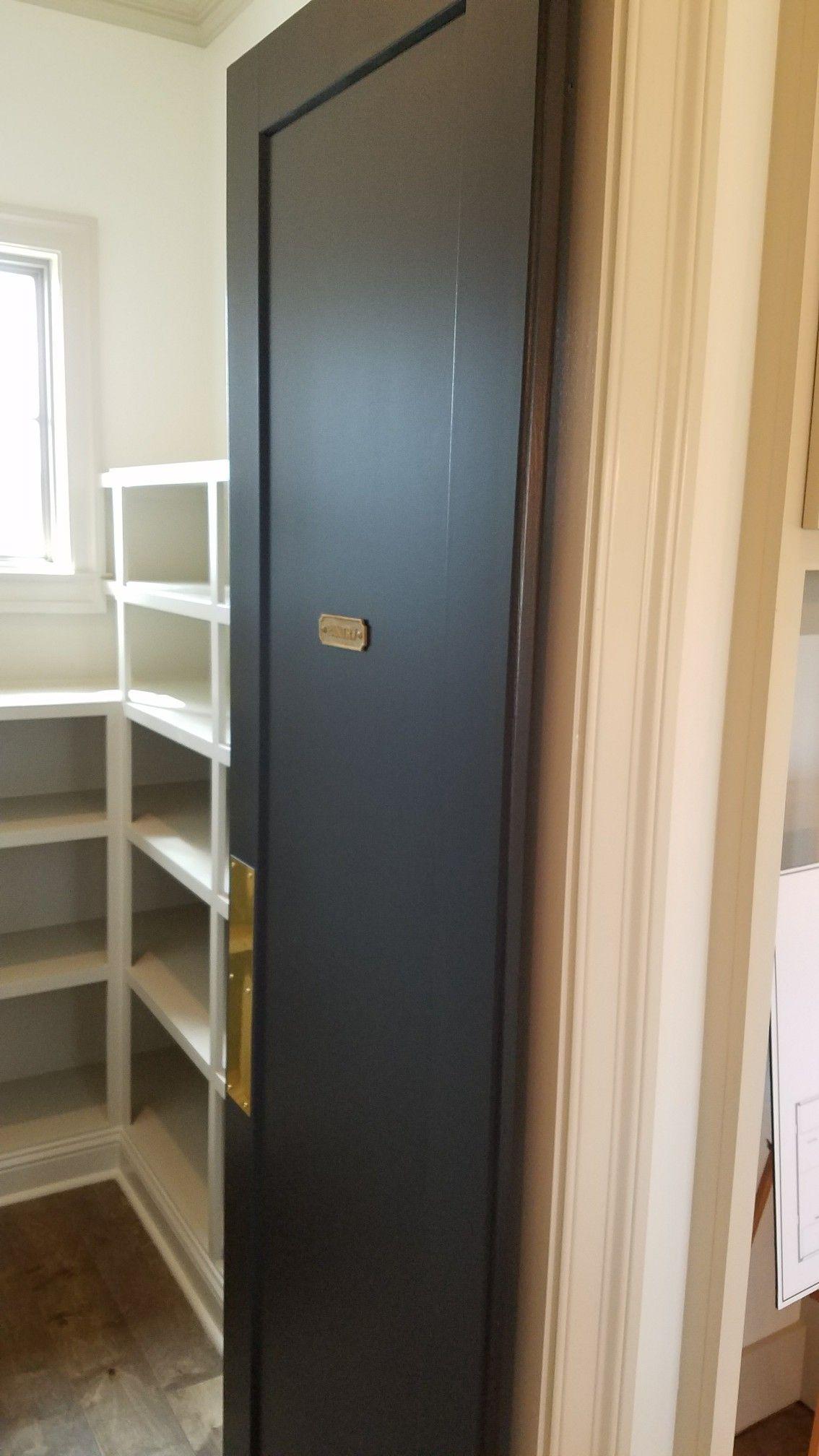 Butler swinging pantry door Farmhouse interior doors