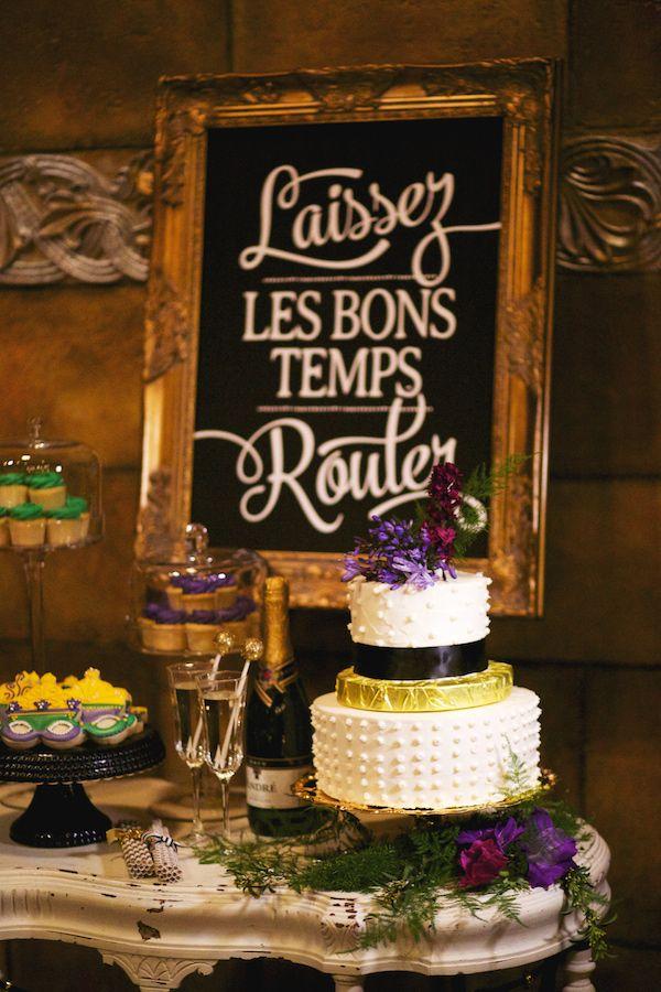 Mardi Gras Wedding Inspiration | wedding bliss | Pinterest | Mardi ...