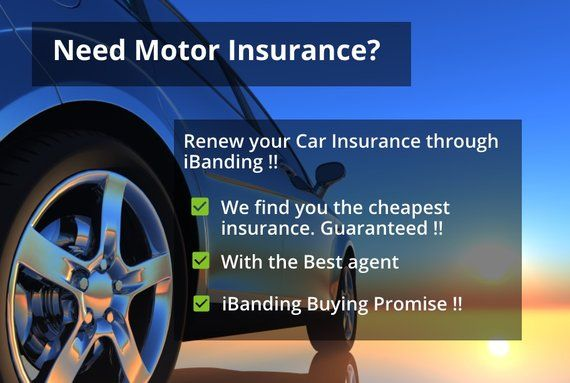 Renew Your Car Insurance Through Ibanding Limited Numbers Only