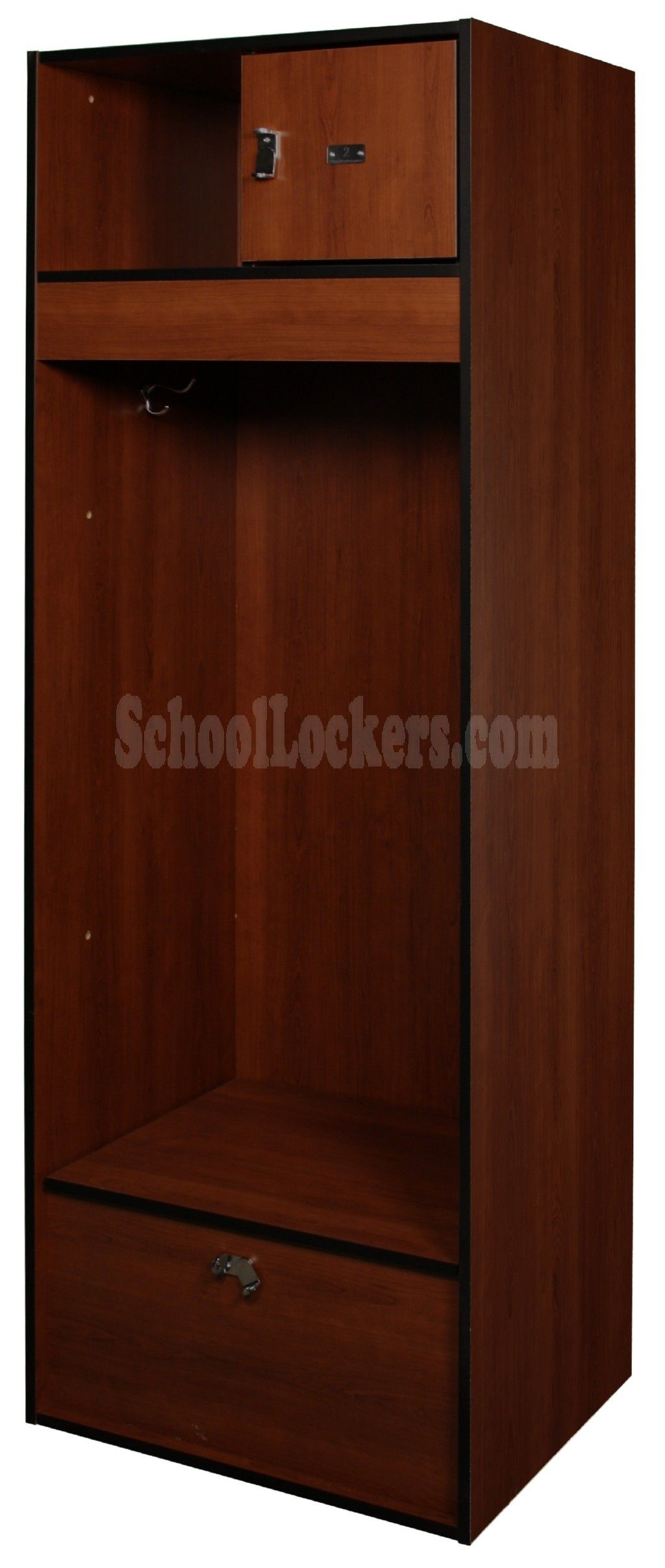 lockers for visiting competitors and schoolers