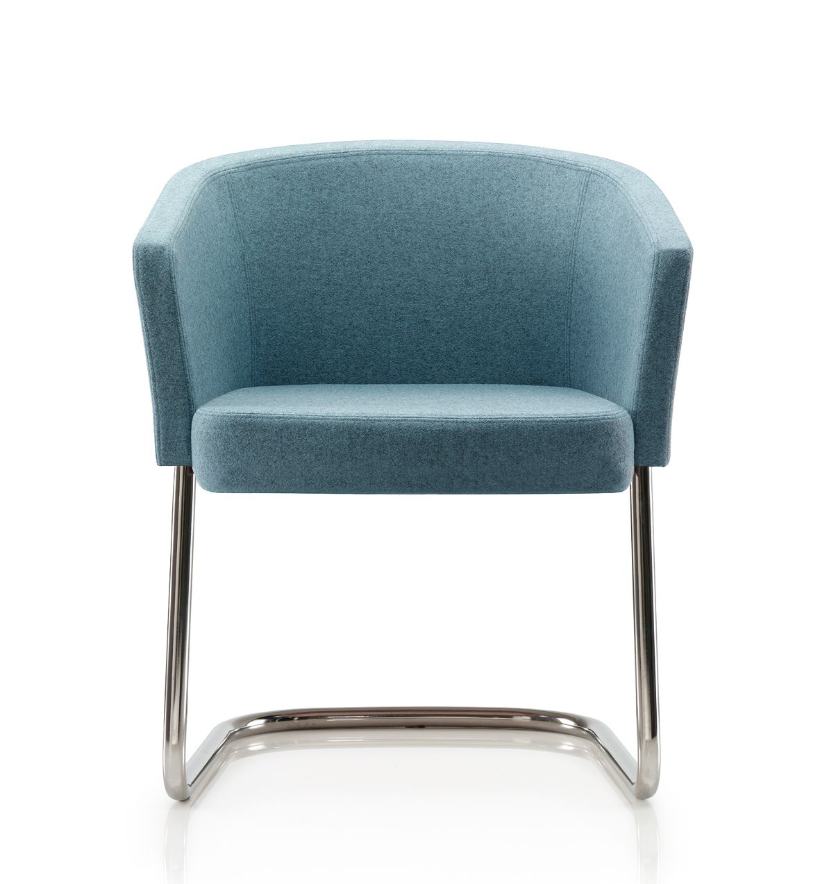 Dolce lounge chair with cantilever base | Harmony Collection | Pinterest