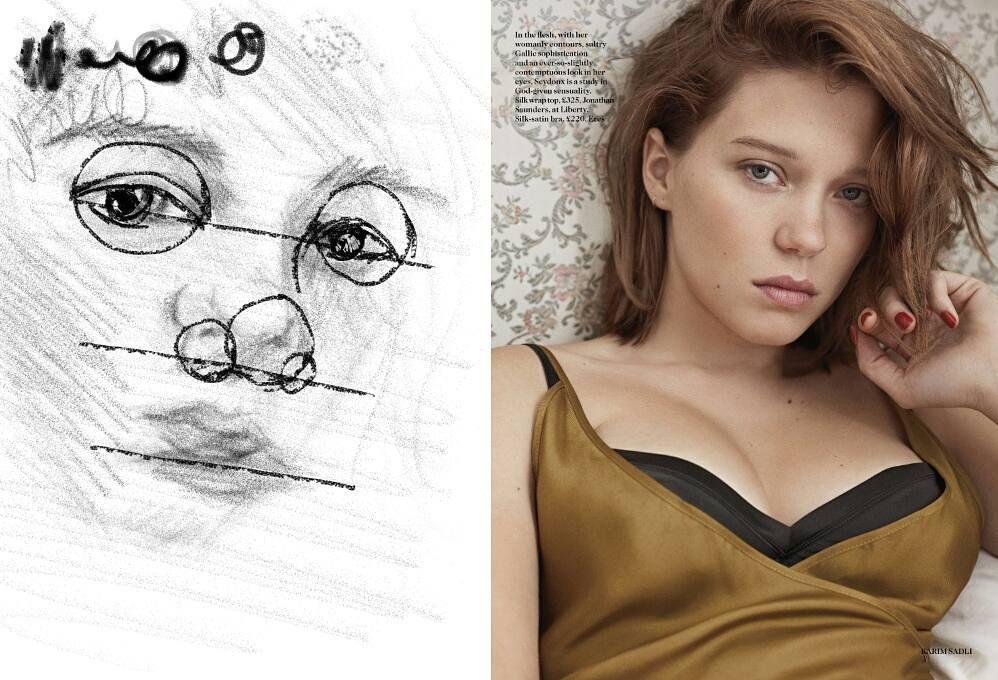 역시 그림은 종이에 대고 그려야 #뭘그린거지 #포토샵 #드로잉 #photoshop #drawing
