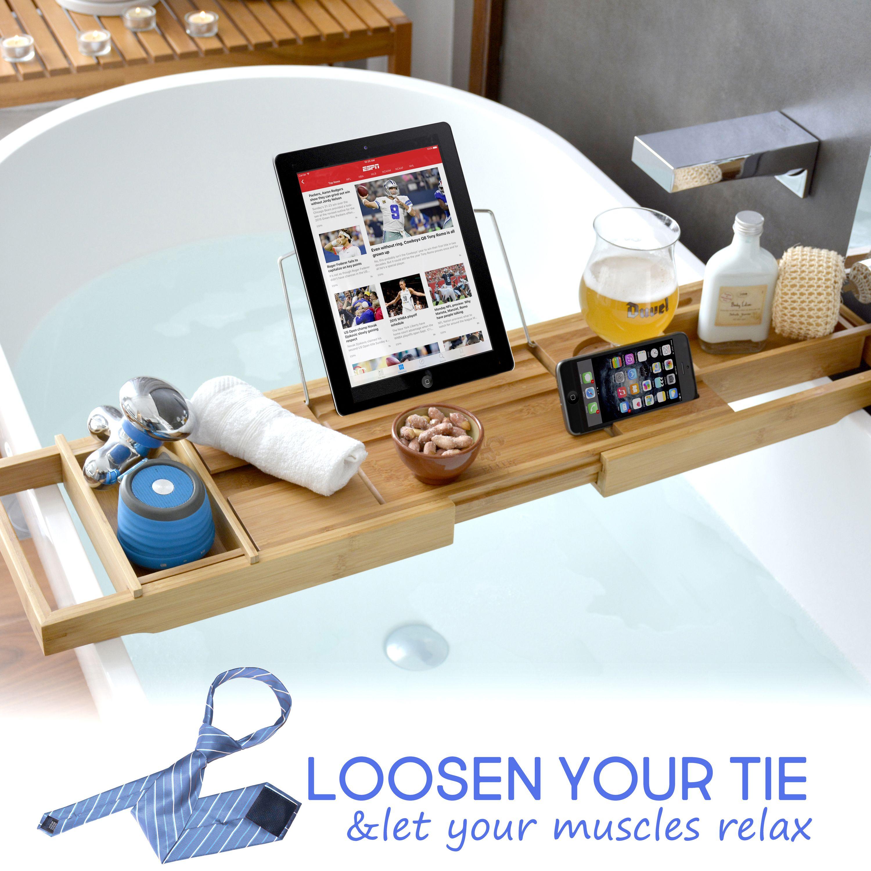 Bathtub Caddy & Laptop Bed Desk   Pinterest   Bathtub caddy ...