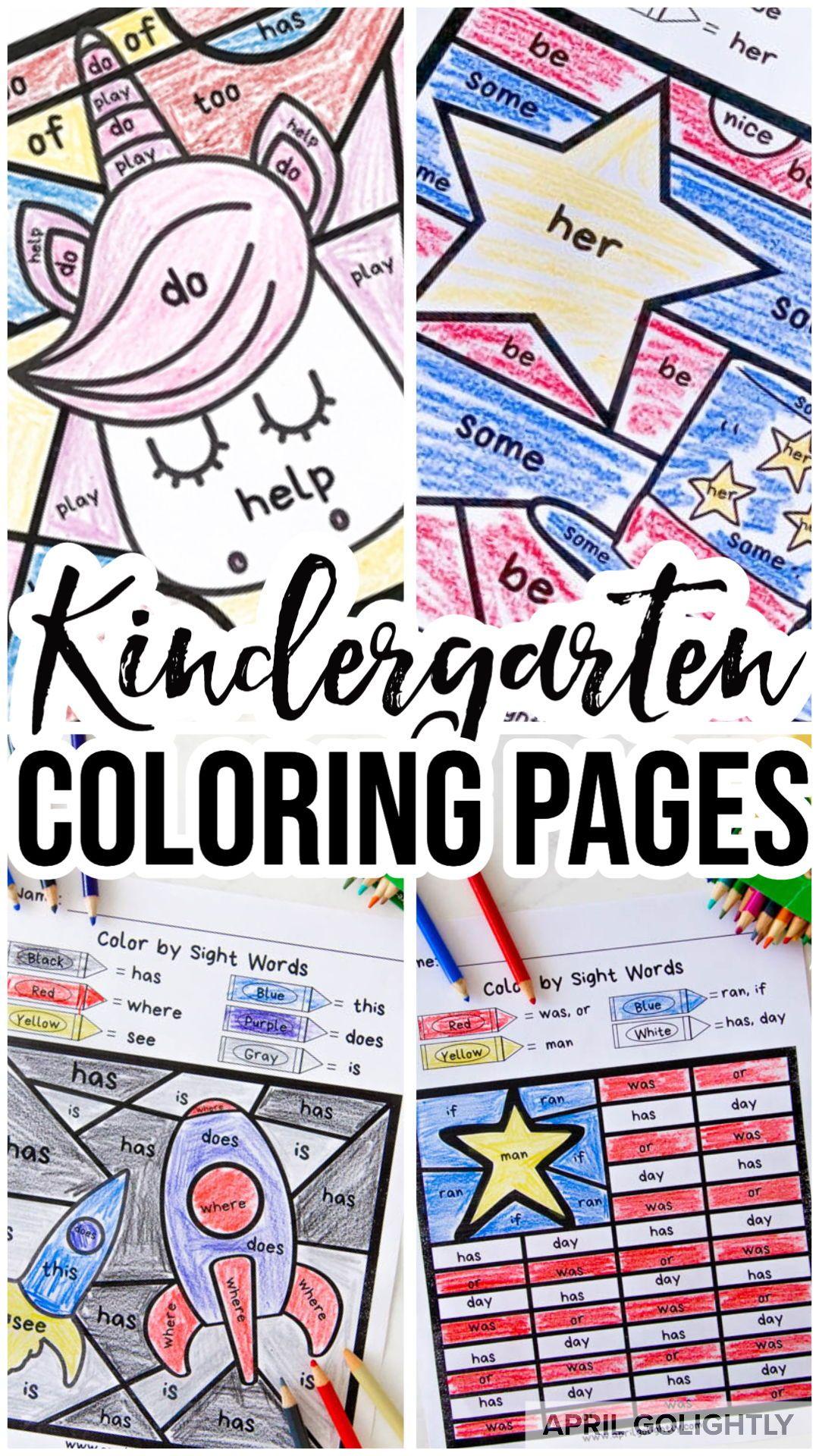 Kindergarten Worksheets In