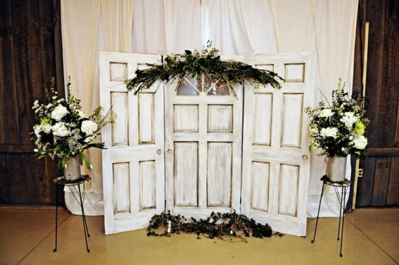Fall Backdrops For Wedding Ceremony
