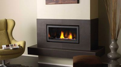 Fireplace surrounds and Gas fireplace