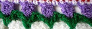 Franciens Haakwerk Tulpen Randjes Haken Nederlands Crochet