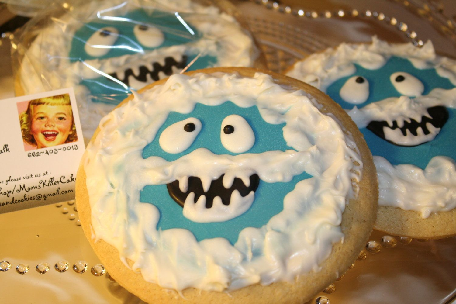 Mom S Killer Cakes Cookies Bumble The Abominable Snowman Inspired