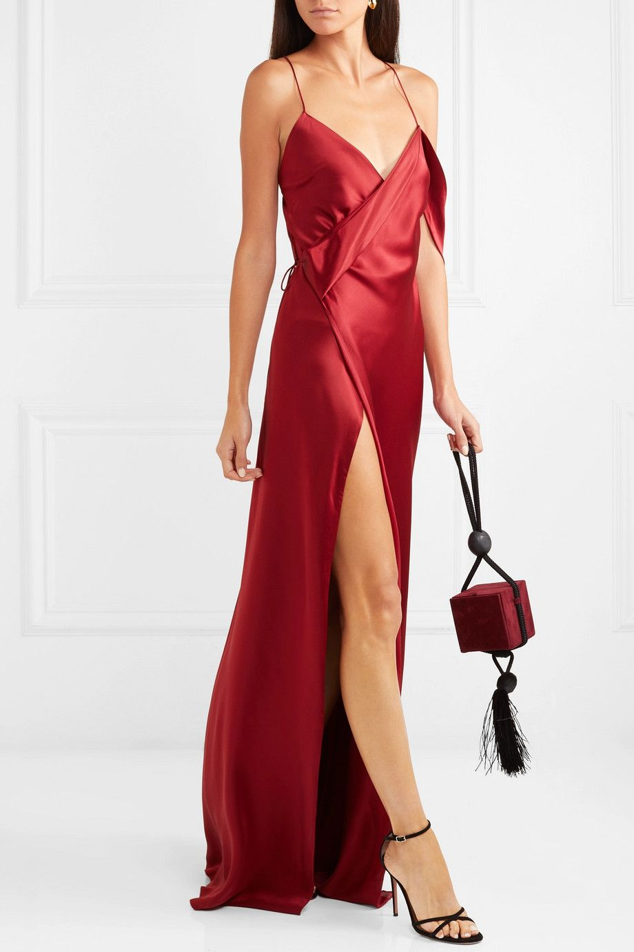 a714d7ba1749 Michelle Mason - Draped silk-charmeuse gown in 2019 | we all have a ...