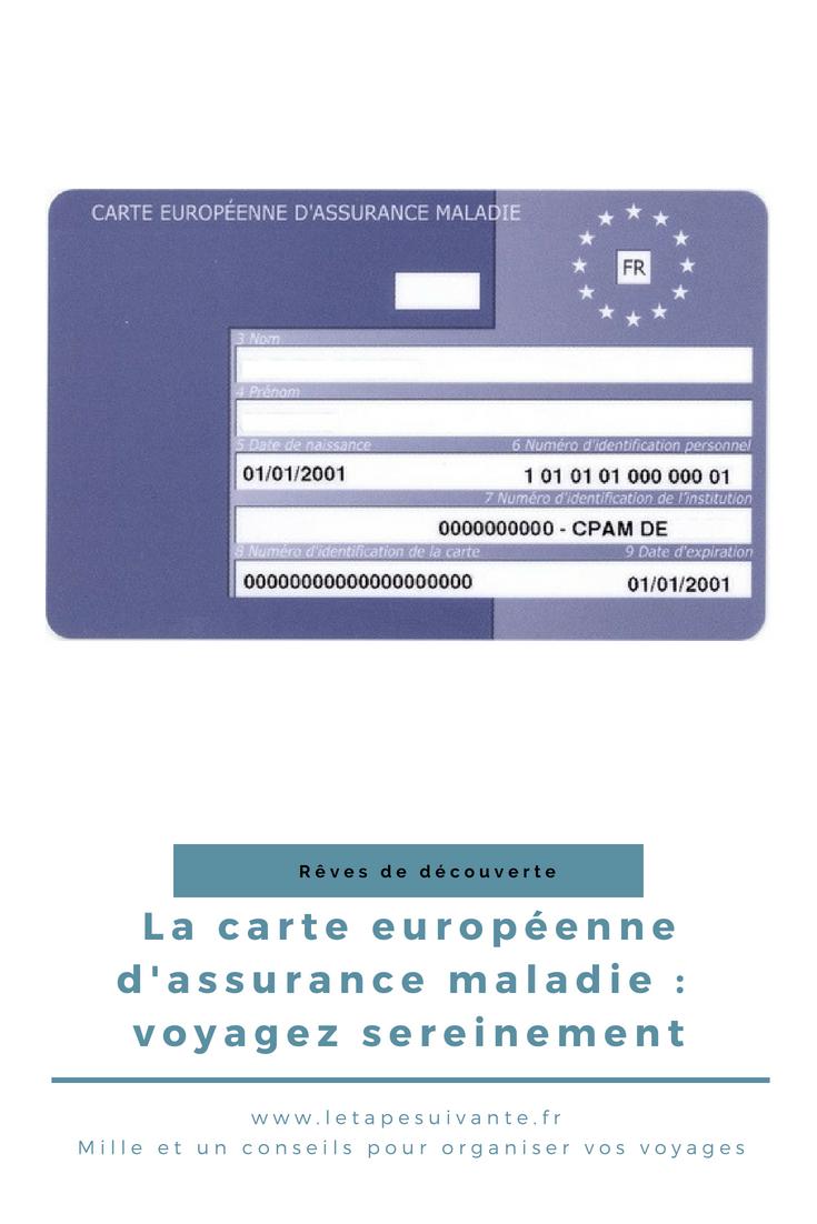 Carte Assurance Maladie Angleterre.La Carte Europeenne D Assurance Maladie Voyagez