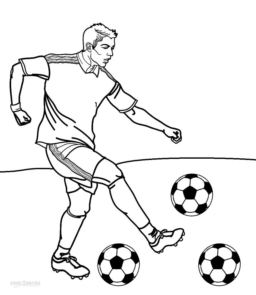 Football Player Coloring Pages Football Coloring Pages Sports
