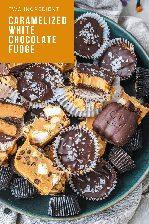 Caramelized White Chocolate Fudge Buttermilk By Sam Recipe In 2020 White Chocolate Fudge Homemade Fudge Fudge Recipes