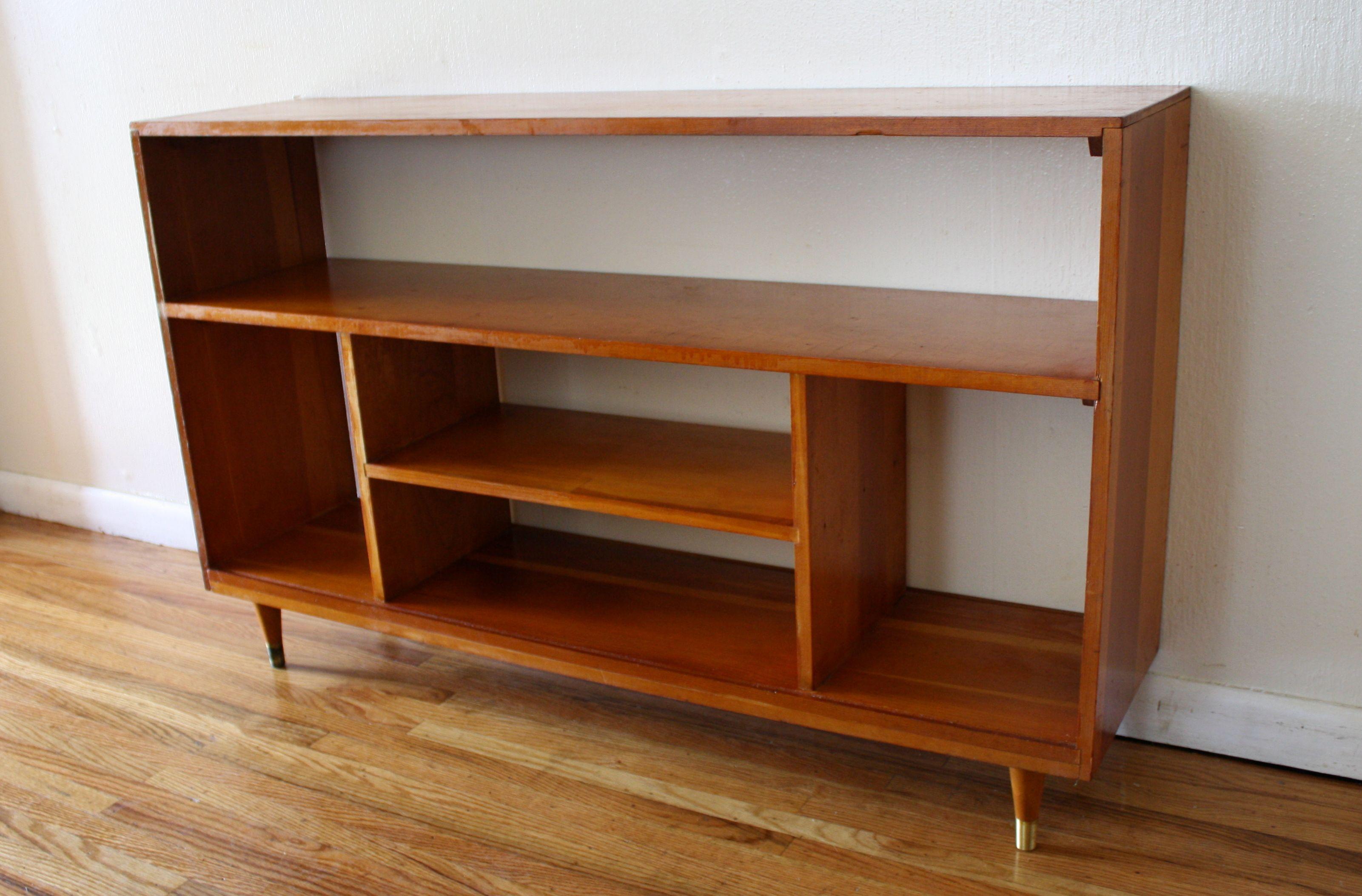 Humby Decoration Mid Century Modern Bookshelf Storage Style