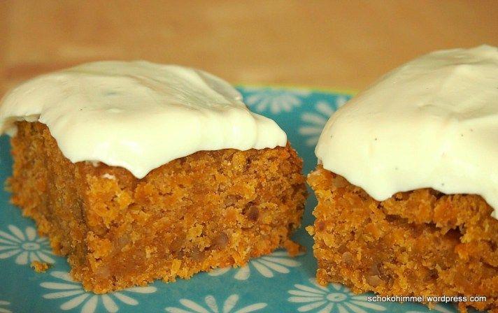 Mein Herbstkuchen Saftig Machtiger Carrot Cake Mit Frischkase