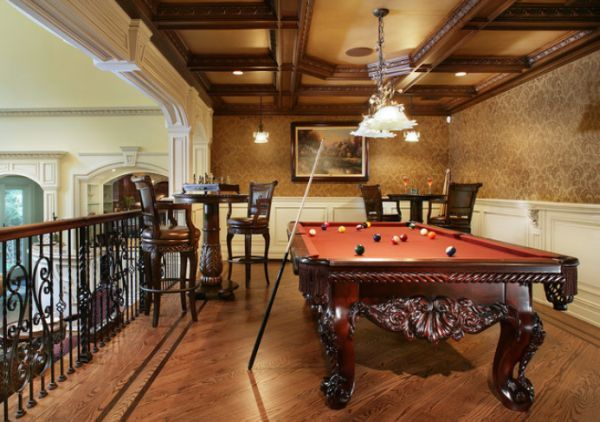A Few Decor Ideas And Suggestions For Your Billiards Room Pool