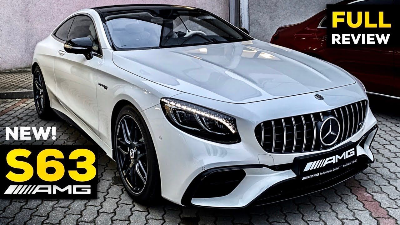 2020 Mercedes Amg S63 Coupe V8 New Full Review Brutal Sound S
