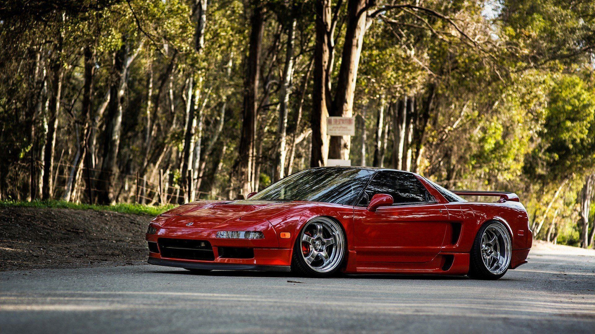car wallpapers acura nsx jdm tuning red automobile desktop