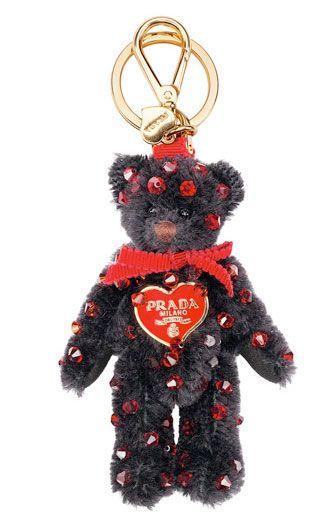 7a3a158d277e Prada Teddy Bear Key Chains