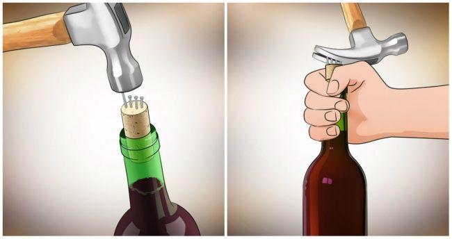 Seven indispensable ways toopen abottle ofwine without acorkscrew